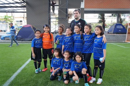 TISAC Foottball U9 Girls